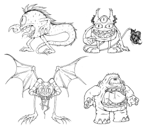 Dom's Monsters