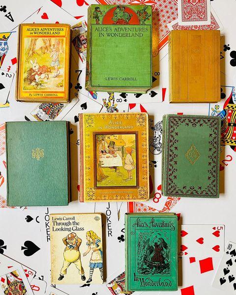 Vintage Alice in Wonderland Books