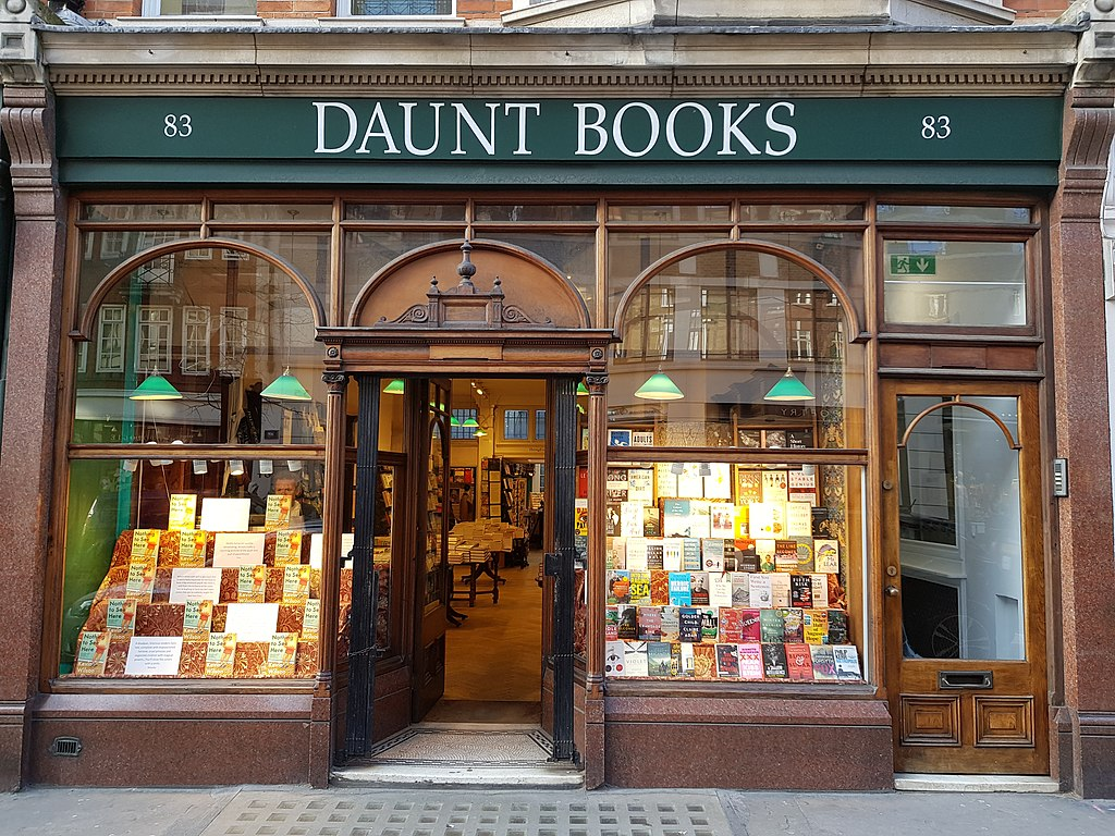 Daunt Books Frontage
