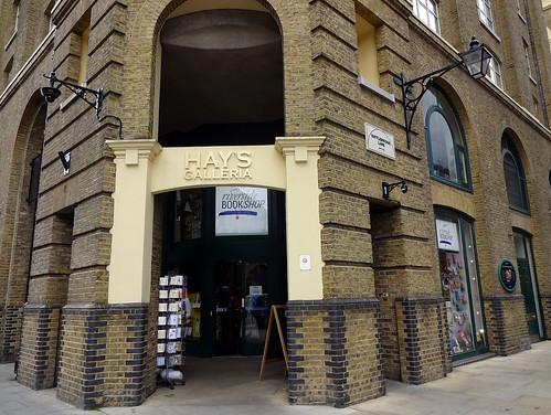 Hay's Galleria bookshop