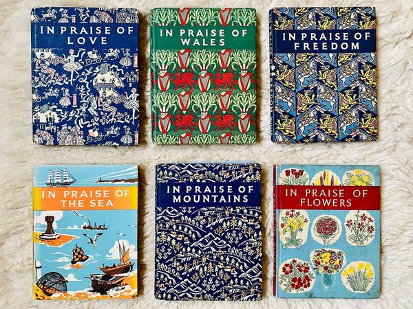 Beautiful Vintage Books