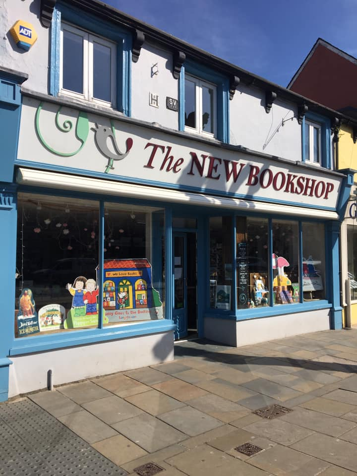 The New Bookshop Street Frontage