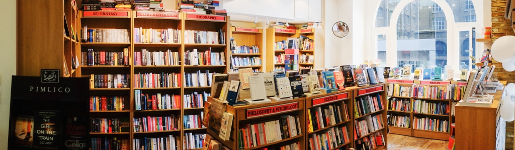Inside The Riverside Bookshop