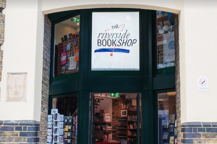 The Riverside Bookshop frontage