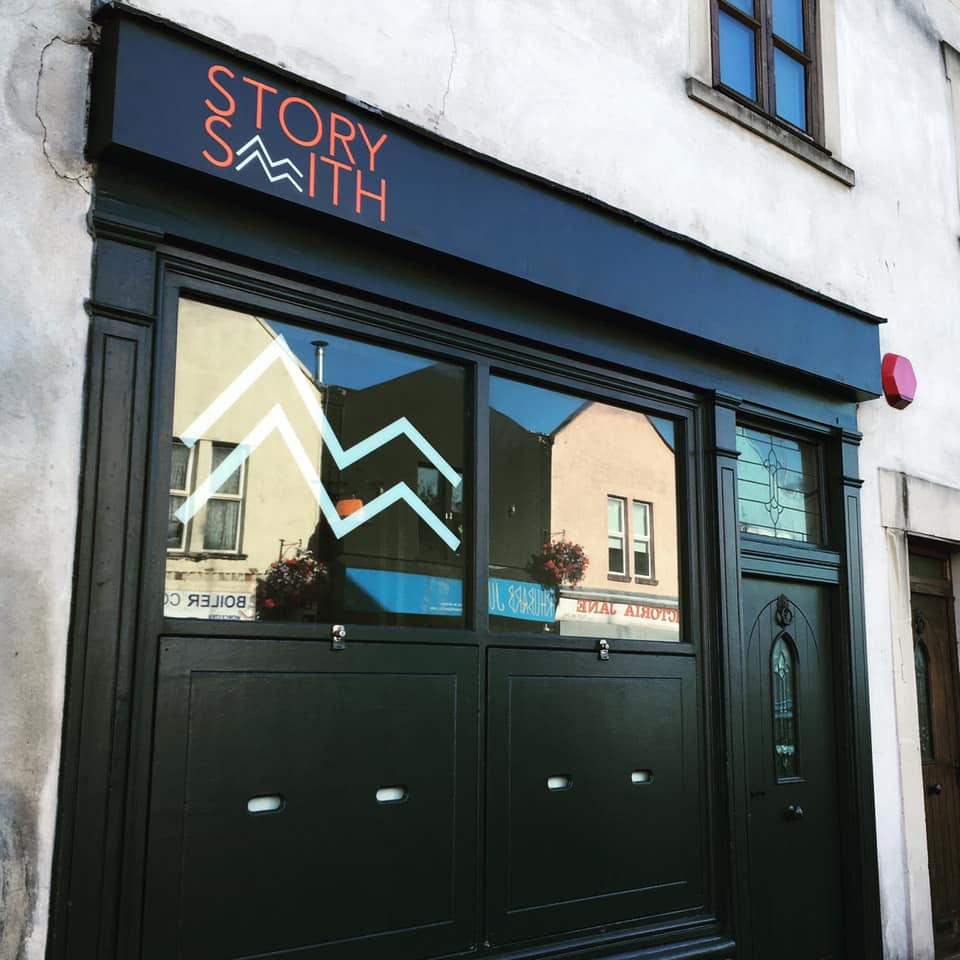 Storysmith Shopfront